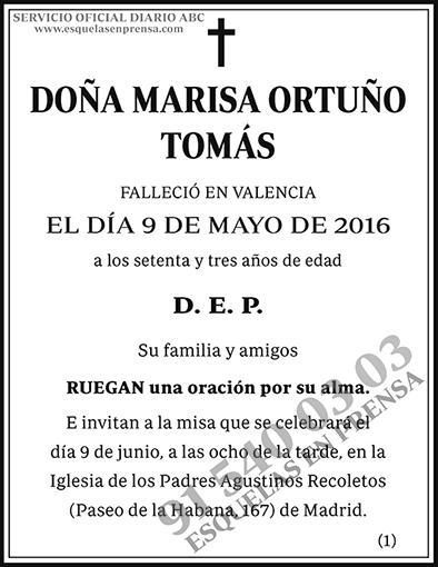Marisa Ortuño Tomás